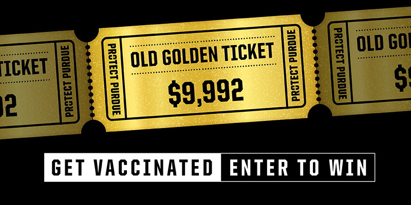 Get vaccinated enter to win at $9,992